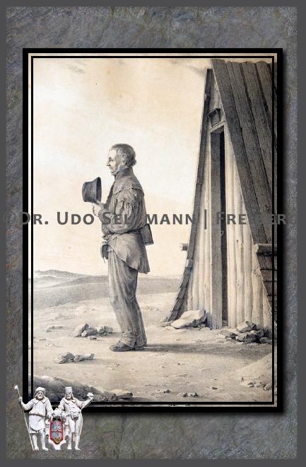 GK 929 Trauernder Betender Bergmann (OHNE Erläuterung)