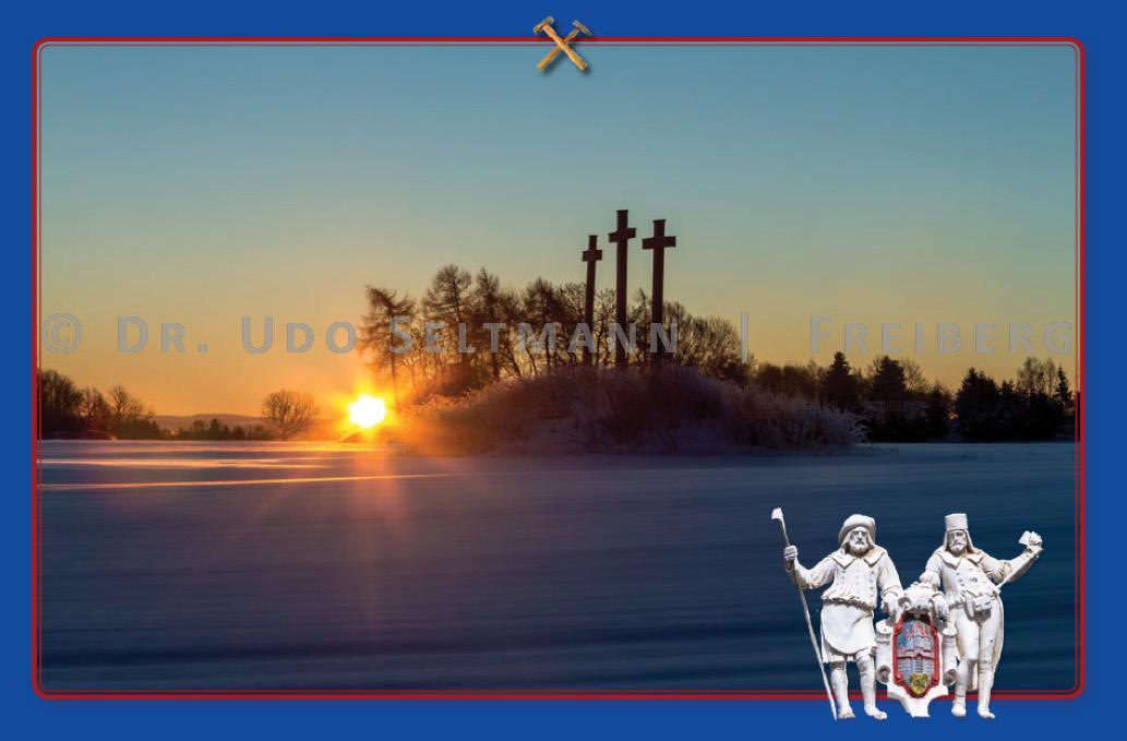 GK 930 - Die Drei Kreuze und ihre Sage (mit Erläuterungstext)