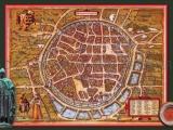 GK 917 Stadtplan Freiberg von 1576 von F. Hogenberg und G. Braun (mit WissenEule)