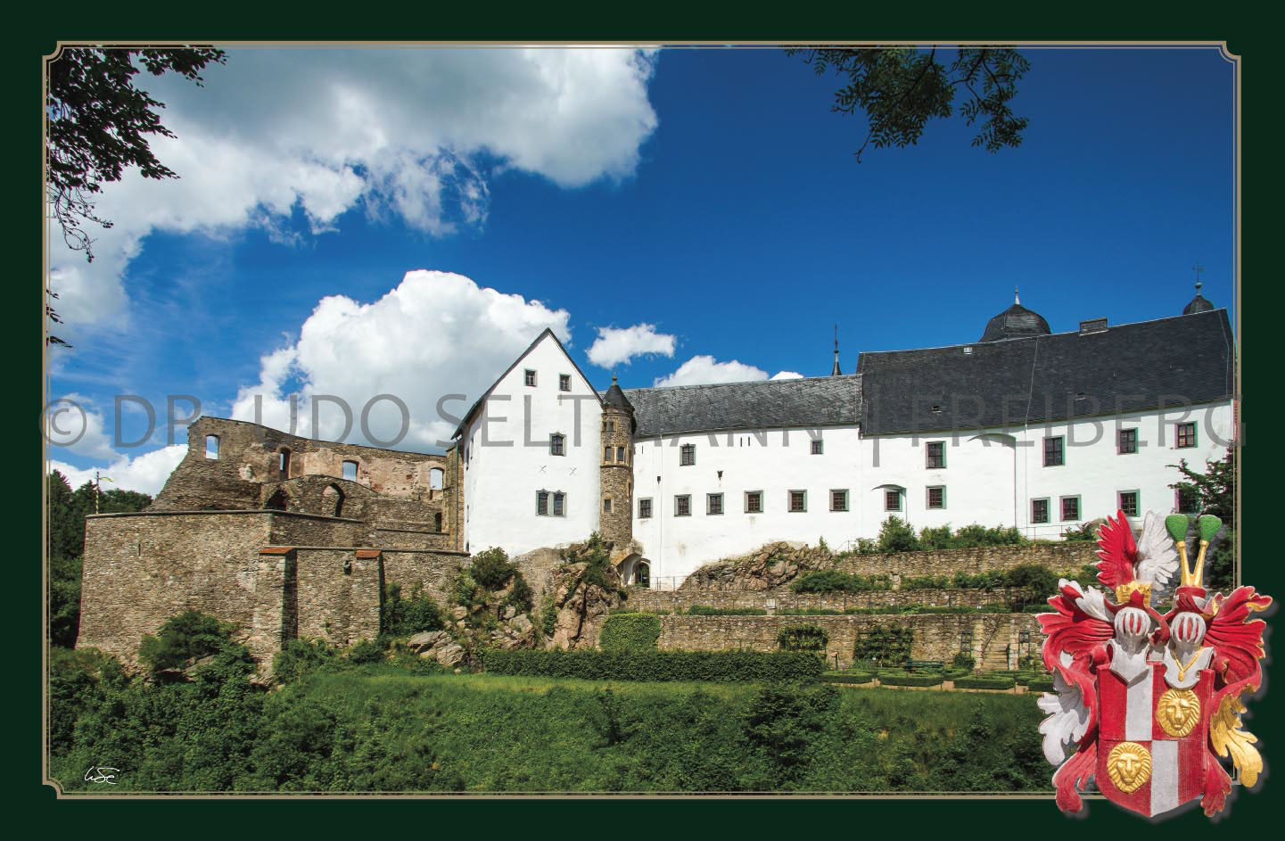 GK 801 Osterzgebirgsmuseum Schloss Lauenstein (Osterzgebirge)