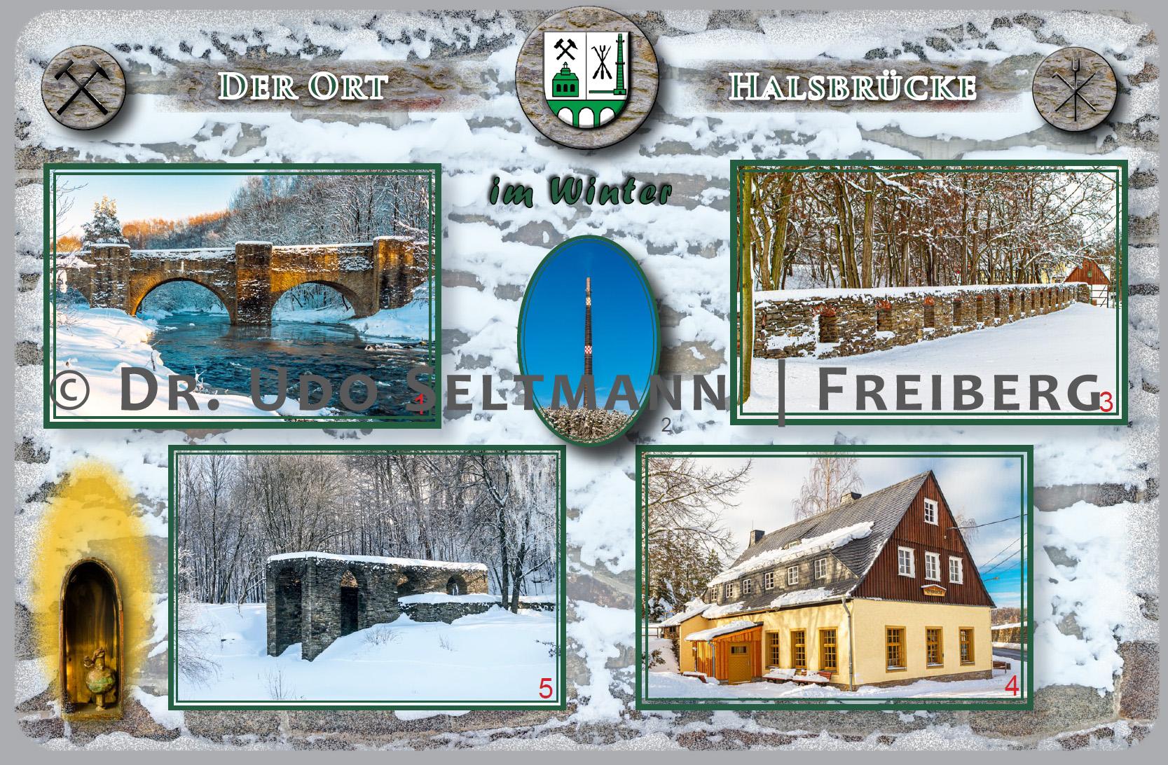 GK 961 Winter Halsbrücke (mit WissensEule) / Auftragsarbeit