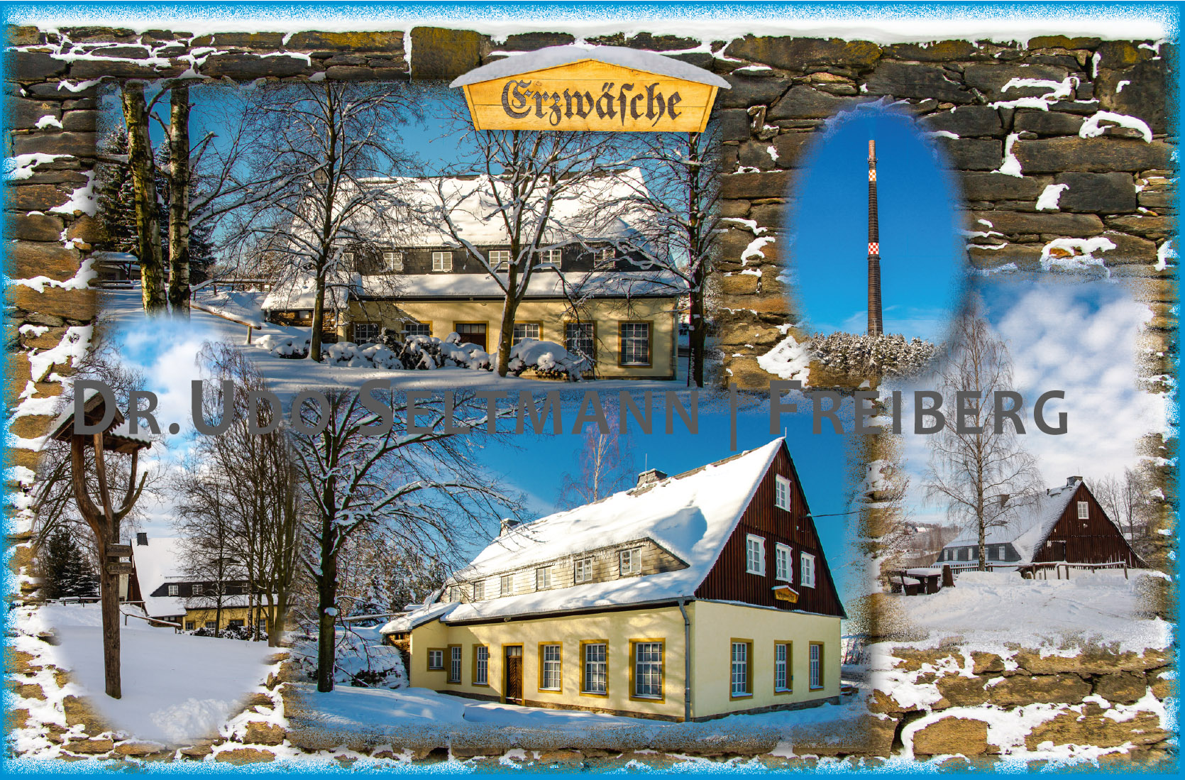GK (o-Nr.) Erzwäsche Halsbrücke Winter (mit WissensEule)