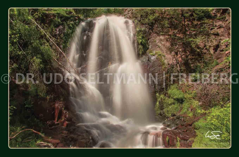 GK 504 Tiefenbach-Wasserfall bei Altenberg (mit WissensEule)